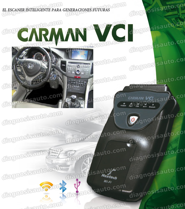 DIAGNOSIS CARMAN VCI MULTIMARCA