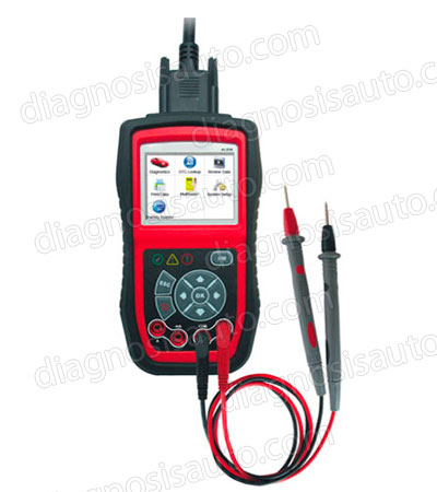 ESCANER DIAGNOSIS MULTIMARCA OBDII CON MULTIMETRO AUTEL AL539