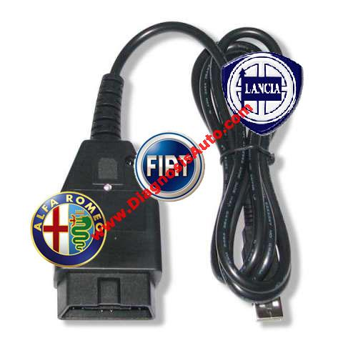 INTERFAZ DIAGNOSIS ALFA ROMEO, FIAT, LANCIA