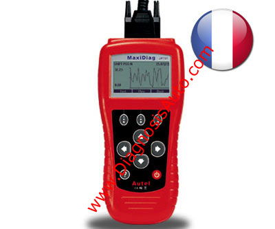 ESCANER PROFESIONAL DIAGNOSIS 704 CAN EOBD + FRANCESES