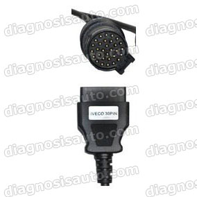CABLE OBD HEMBRA A IVECO 30 PIN CAMION