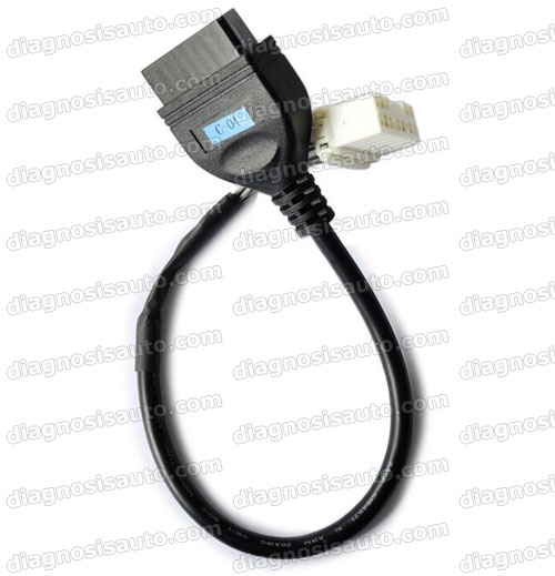 CABLE OBD HEMBRA A JEEP CHEROKEE 12 PIN