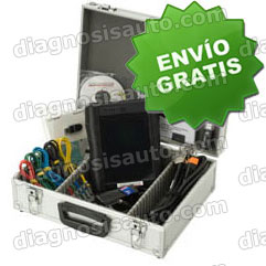 EQUIPO DIAGNOSIS MOTOS TECNOMOTOR SOCIO 690 PREMIUM + KIT CABLES