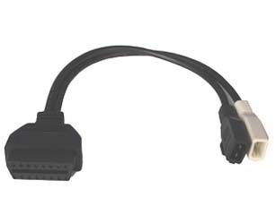 CABLE OBD HEMBRA A AUDI, VW, SEAT Y SKODA VAG 2X2